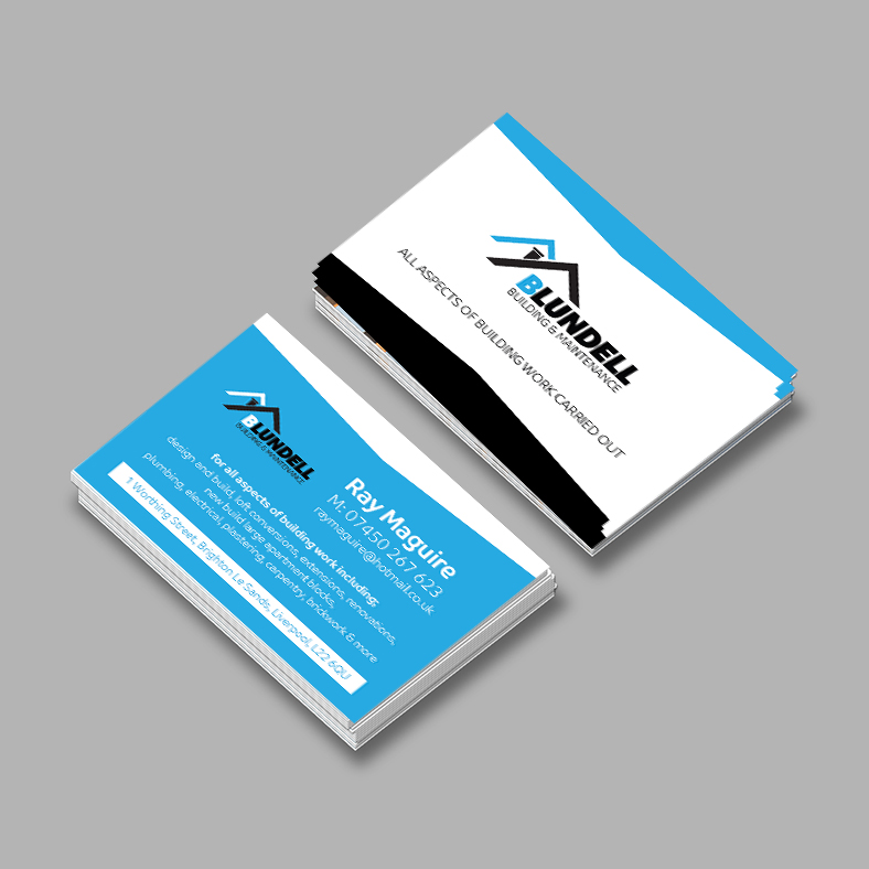 Business Cards (400gsm Silk) – VC Creative