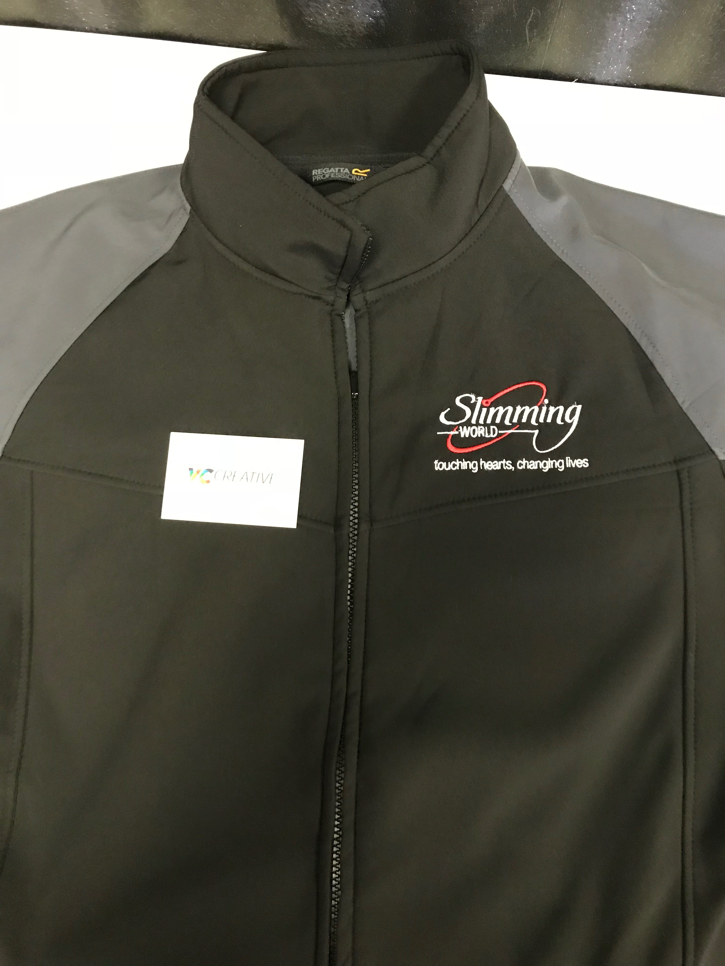 df51e1251 Slimming World Regatta Uproar Softshell Jacket – VC Creative